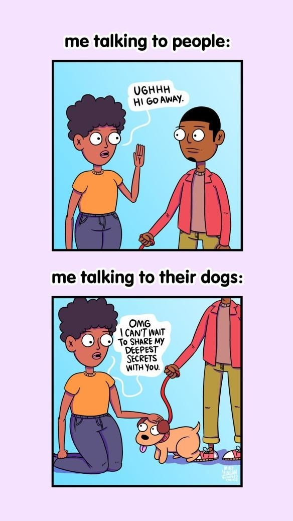If You Like Dogs More Than People, This Post Is For You