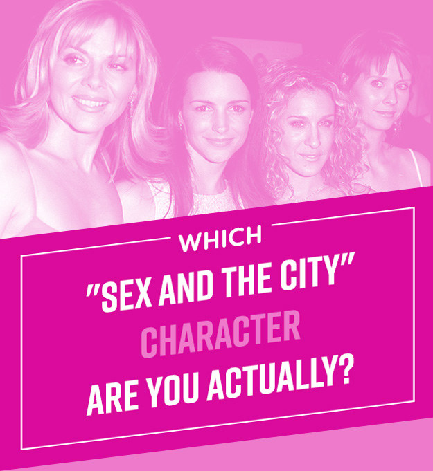 Which sex and the city character are you Nude Photos 30