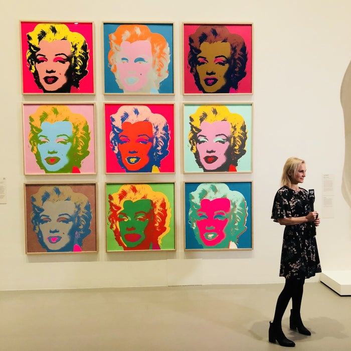 They're appearing at the National Gallery of Victoria's MoMA at NGV exhibition, which runs until October 7.