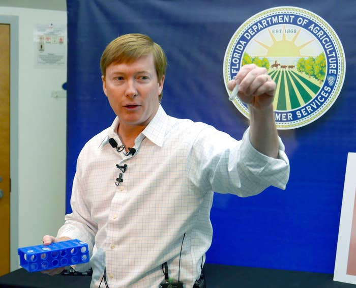 Florida Commissioner of Agriculture Adam Putnam.