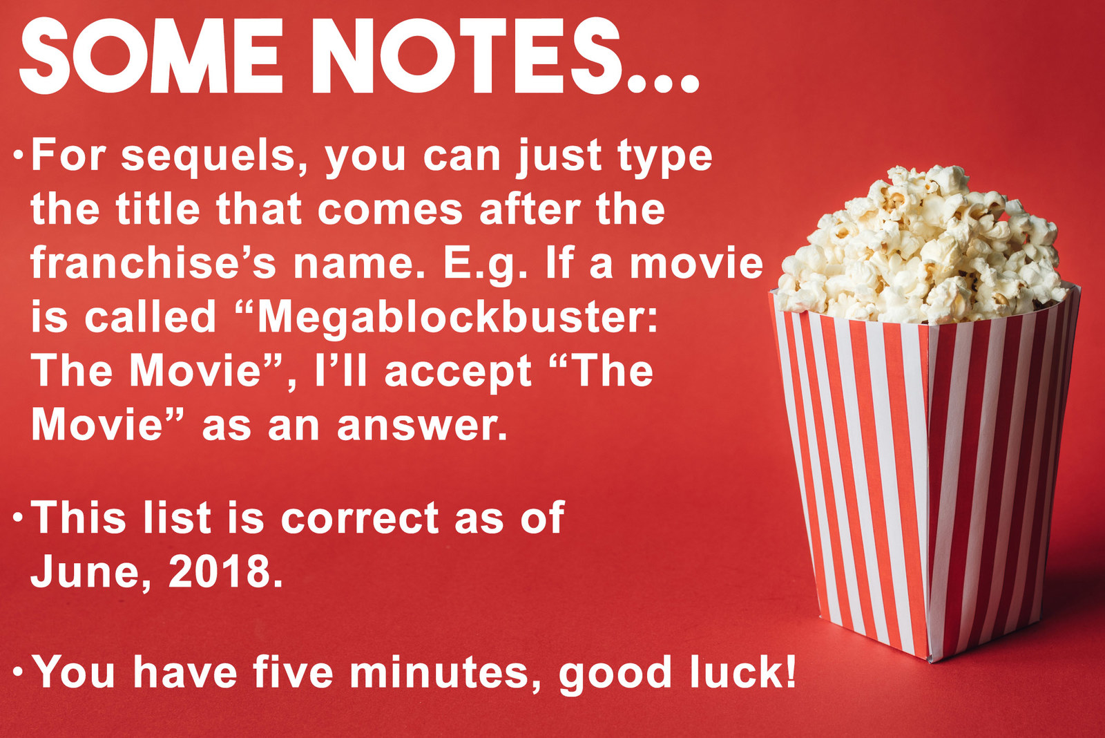Can You Name 25/100 Of The Most Popular Movies Of All Time?