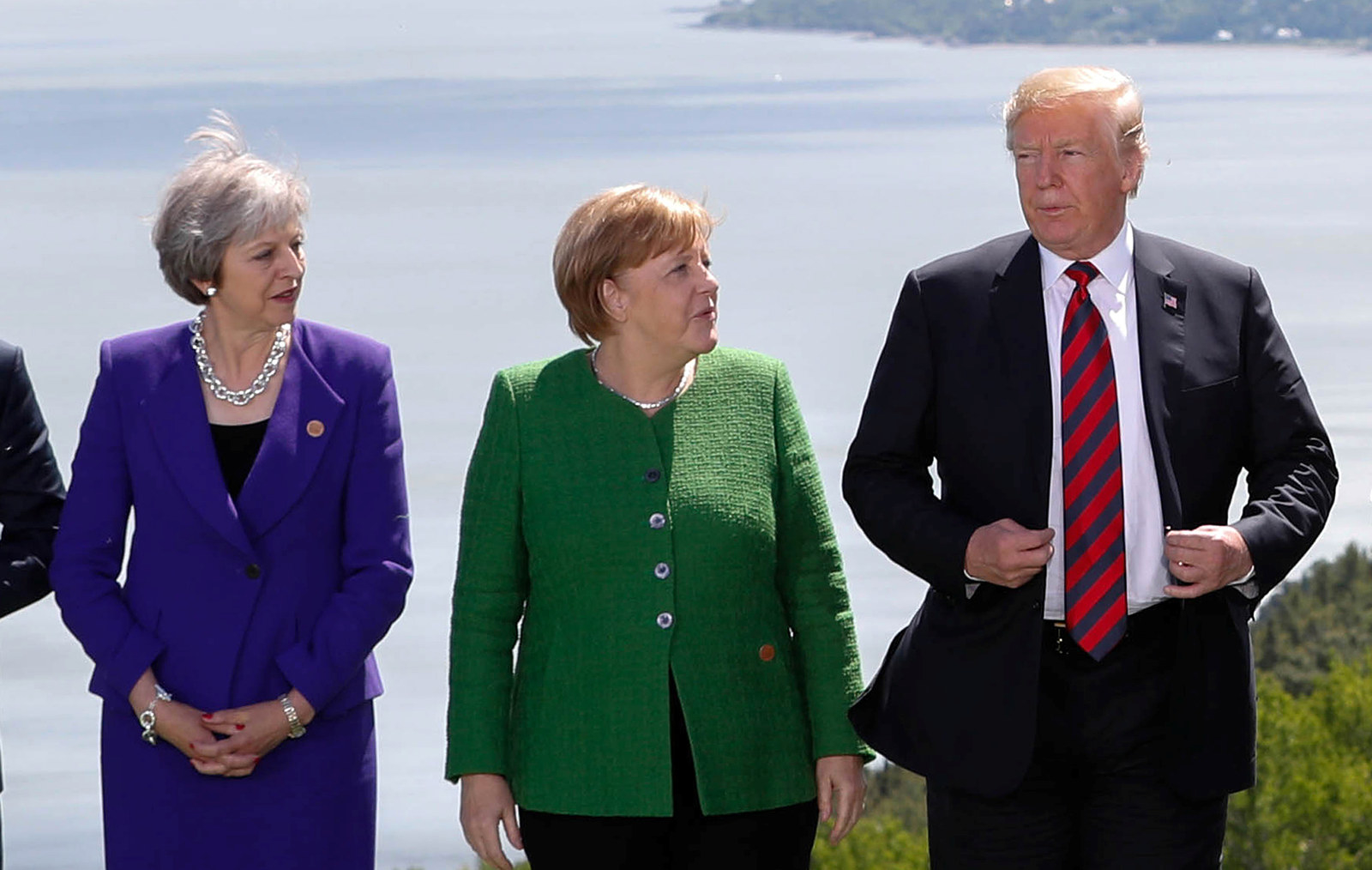 This Incredible Photo Of Trump Surrounded By G7 Leaders Is Like A Renaissance Painting