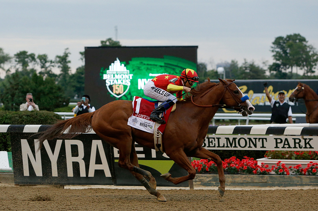 Justify Has Won The Belmont Stakes, Securing The Triple Crown
