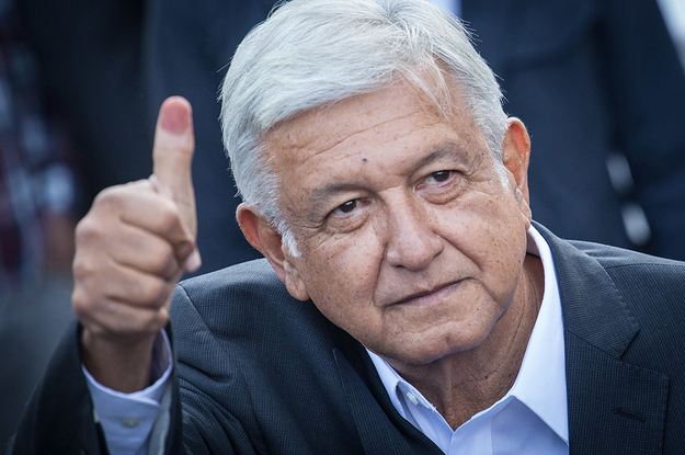 Early Results Show Andrés Manuel López Obrador Is Set To Become Mexico's New President