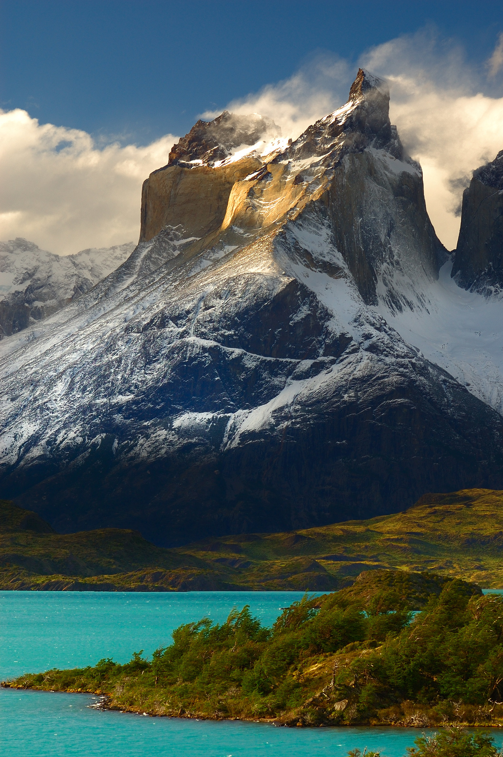 Chile: Torres del Paine National Park -  You'll find Torres Del Paine in Chile's Patagonia region.