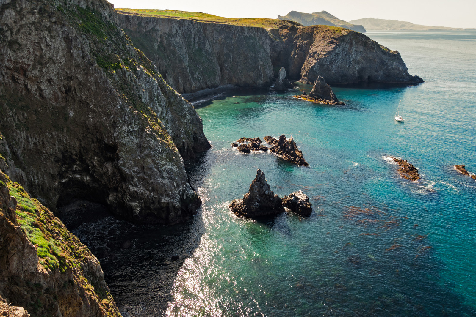 USA: Channel Islands National Park -  California is home to more national parks than any other U.S. state, including this one, which contains five of the eight channel islands just off the Pacific coast.