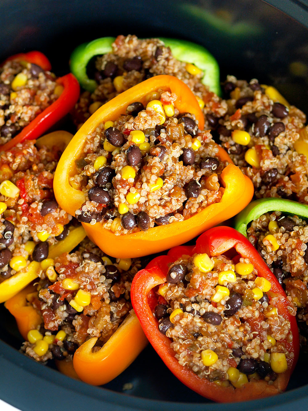 Stuffed peppers taste just as great cold as they do when they're fresh, IMHO. Recipe here.