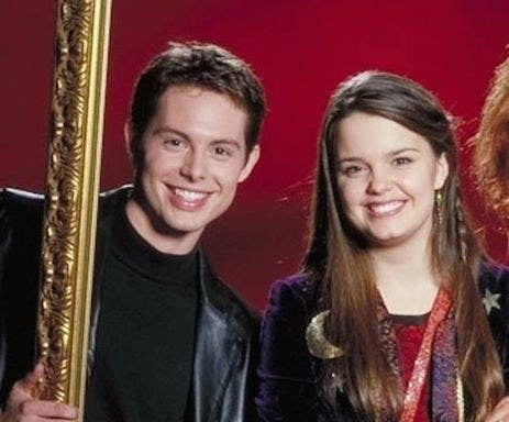 holy halloweentown the internet just discovered marnie piper and kal actually ended up together irl and my childhood memories are shaking
