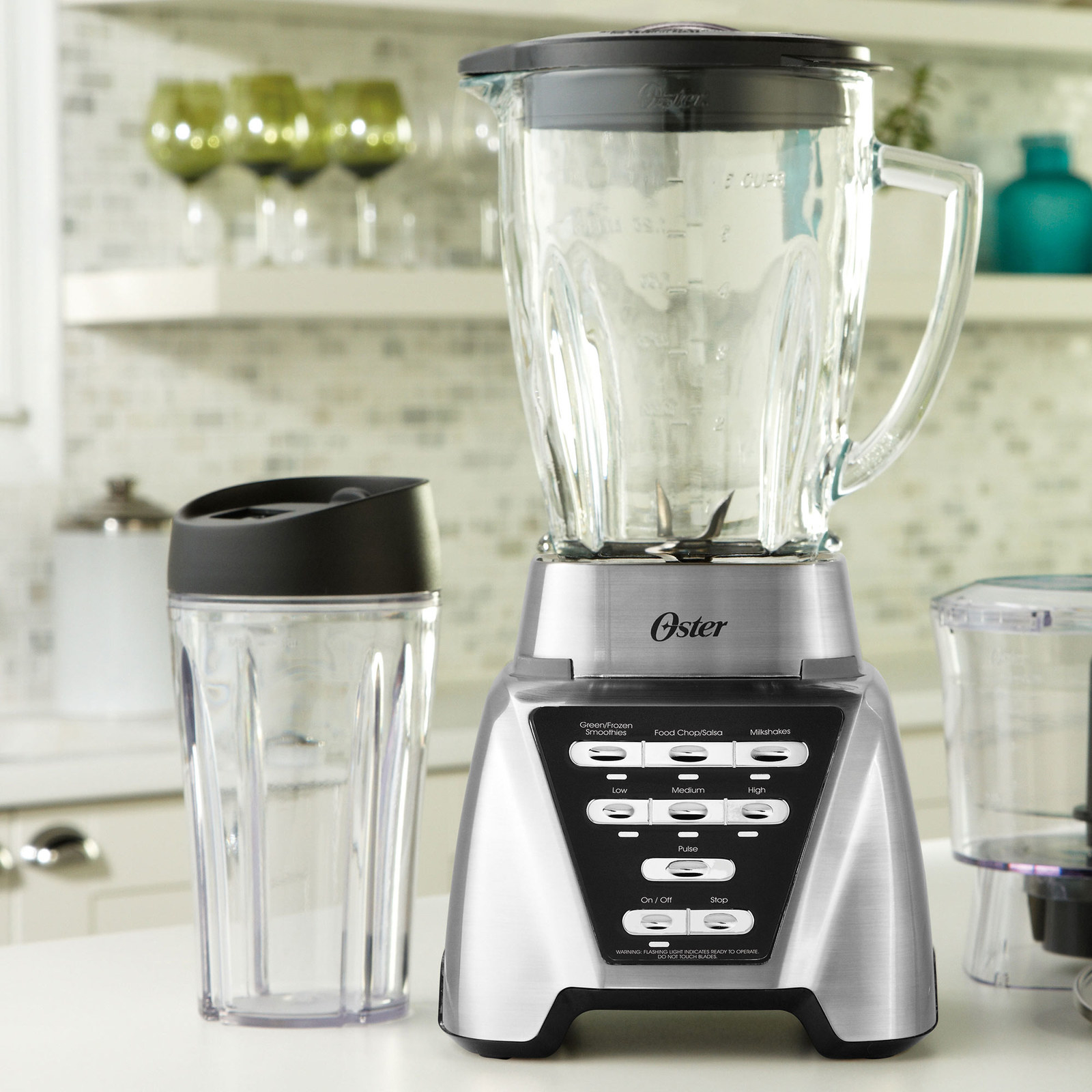 """You'll be apologizing for your uncle Eric's comments for years to come. Promising review: """"I love this blender. It's easy to use, easy to clean, and I love how easily it can liquify smoothies and potatoes or broccoli soup. It is strong and steady. I made almond butter and it came out great. I can make four smoothies at a time. It's also great for frozen fruits."""" —vickynikiPrice: $59"""