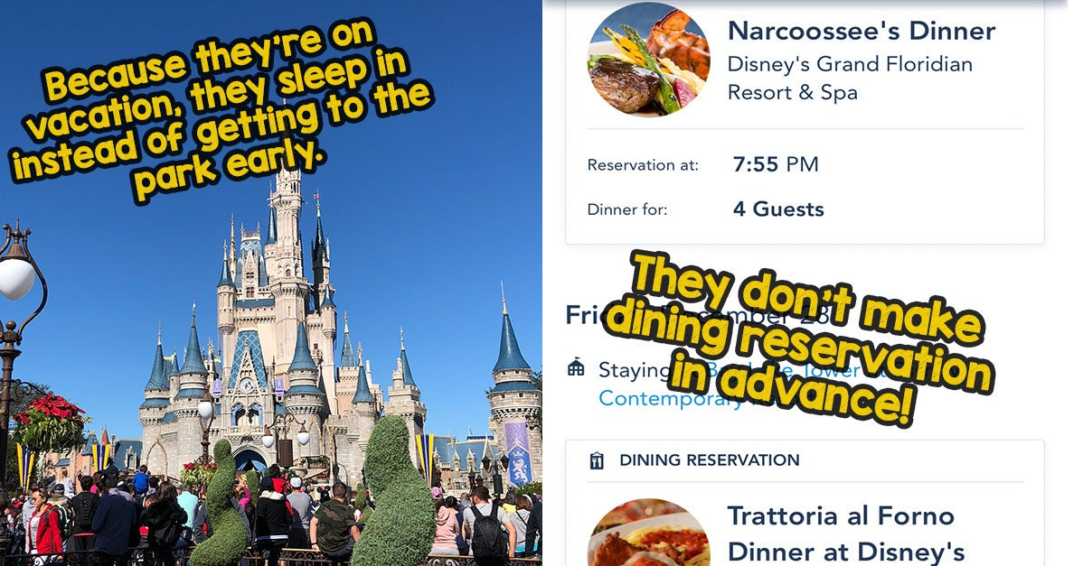 23 Mistakes Everyone Makes When They Visit Disney World For The First Time
