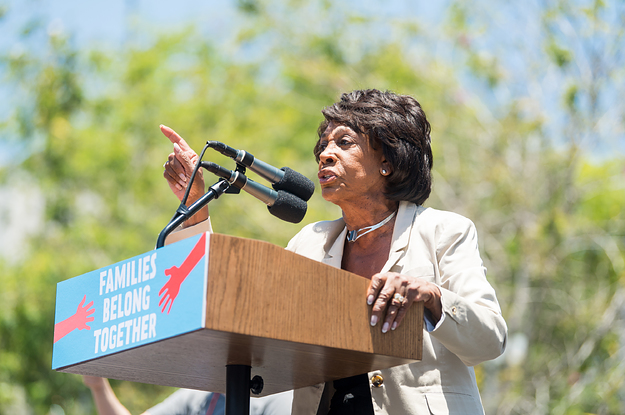 photo image Black Democrats Want To Know Why You're Not Standing Up For Maxine Waters