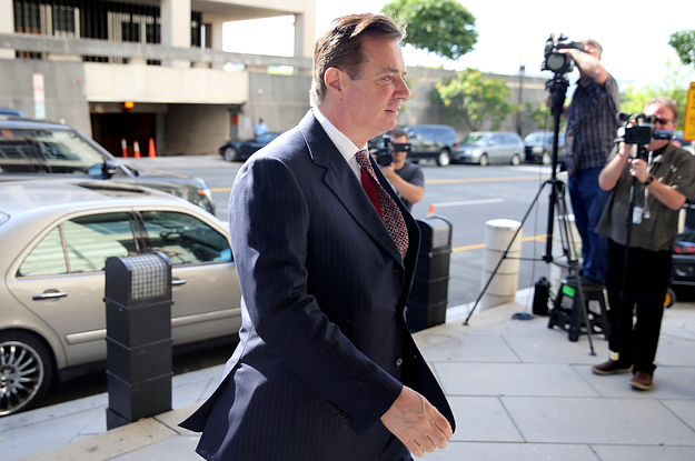 photo image Paul Manafort Said On A Monitored Phone Call In Jail That He's Being Treated Like A