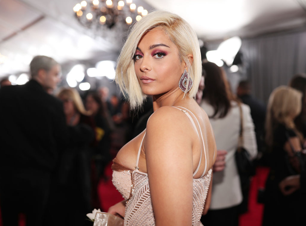 "Bebe Rexha - Who she is:  Pop star, got into a big fight with a few queens from  Rupaul's Drag Race My mom's guess:  ""Is that Kylie Jenner? She should have gotten her dress in the next size up — make that two sizes up."" Was she right?"