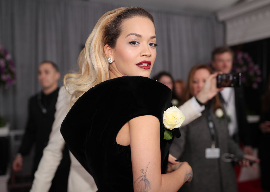 "Rita Ora - Who she is:  Pop star, former host of  America's Next Top Model  reboot My mom's guess:  ""Have no idea ... but she obviously has missed her last few appointments with her colorist. She wants to be a ballerina. Was she in  Black Swan ?"" Was she right?"