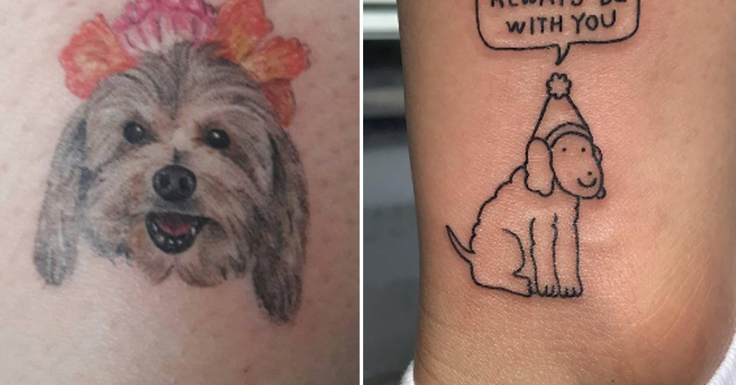 33 Dog Tattoos That Youll Want To Pin To Your Pinterest