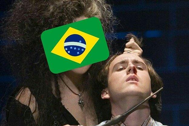 A Inglaterra perdeu e os brasileiros não esqueceram as palavras de Matthew Lewis