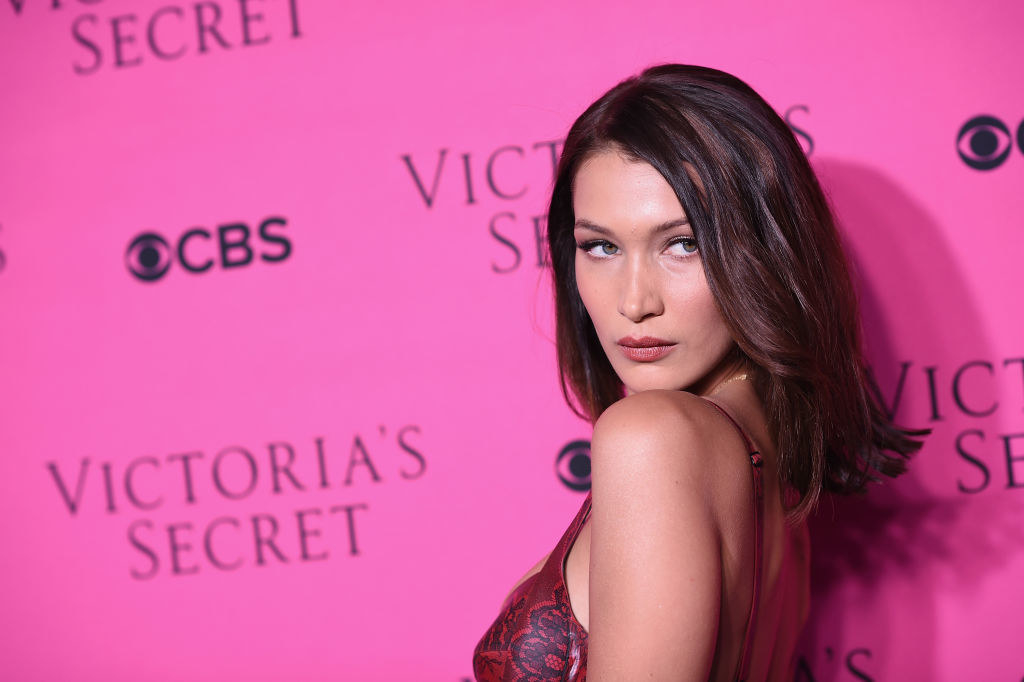 "Bella Hadid - Who she is:  Supermodel, social media influencer My mom's guess:  ""Have no idea but she obviously has practiced that pose a lot in her mirror."" Was she right?"