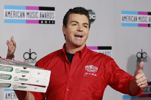 The Founder Of Papa John's Has Resigned After Using The N-Word In A Conference Call