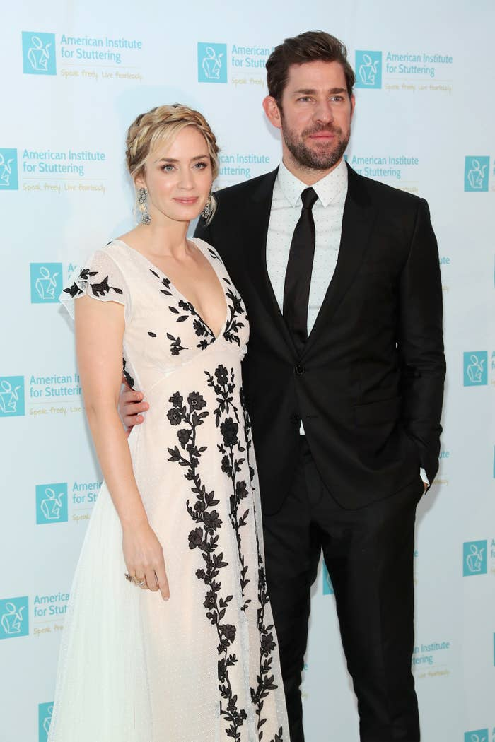 John Krasinski Emily Blunt Wedding.Here S A Look Back At Emily Blunt And John Krasinski S