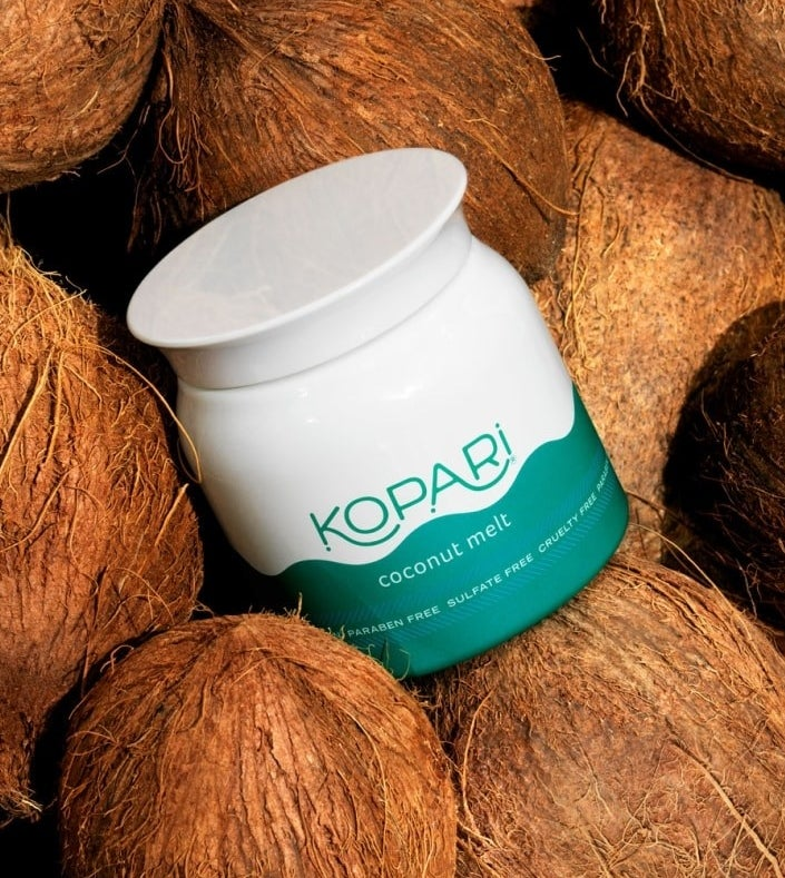 """Promising review: """"I put this on my dry hair at night and wake up to soft, non-frizzy hair the next day. A little dab will do it! Just dig some out with your, rub it between your palms, and it'll melt. Then just put as much or as little as you want in your hair. Plus, this has a nice, light scent!"""" —Kat5KidPrice: $18"""