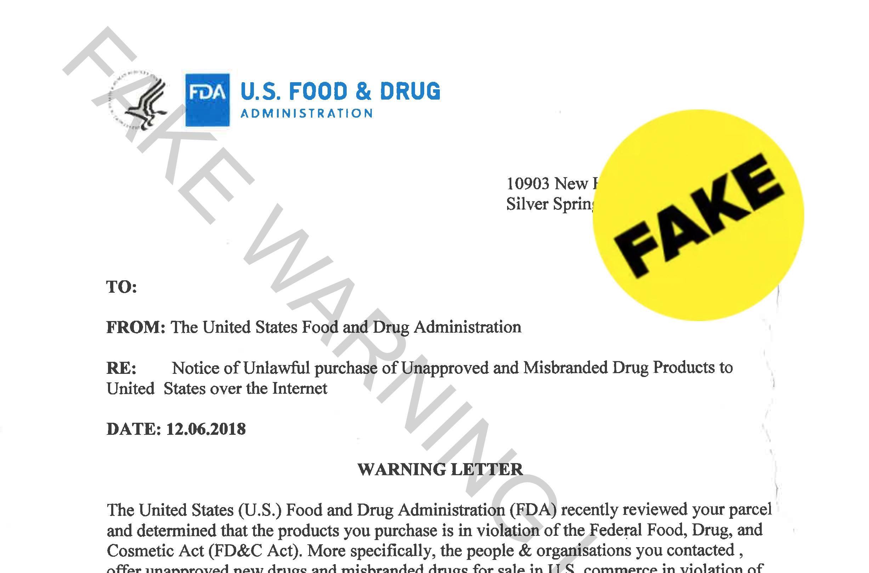 Food product dating fda warning