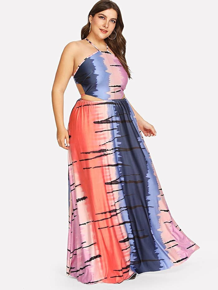 1ba169b4aebc A strappy-backed maxi dress that ll solve your