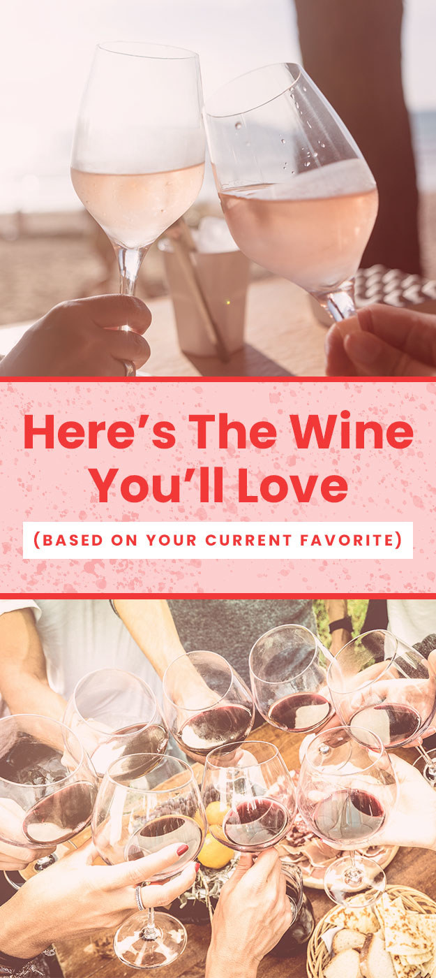 A Guide: Here's Your New Favorite Wine (Based On Your Old One)