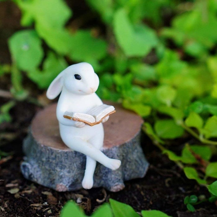 """Promising review: """"This is very cute, it came is a nice box and was packaged well so it was not broken. It is the perfect addition to my fairy and gnome garden."""" —V THERESE WIANDGet it from Amazon for $14."""