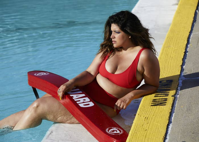 """Bidot (pictured), """"one of the founding members of the body positivity revolution,"""" also wrote this powerful op-ed for Teen Vogue, chronicling her experiences advocating for diversity and inclusivity in the fashion industry, and how modeling for Chromat's new campaign is one of many calls-to-action the industry needs."""