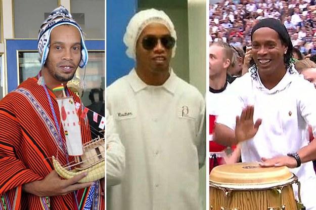buzzfeed.com - Qual rolê aleatório do Ronaldinho Gaúcho você é?