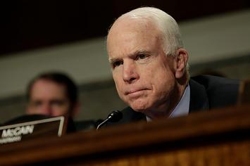 John McCain Says Trump Is