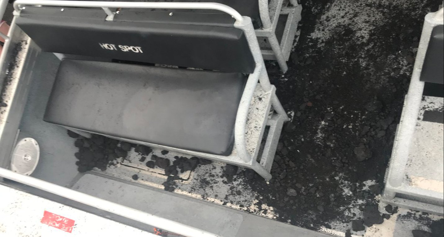 A Lava Bomb Hit A Tour Boat In Hawaii And Injured Nearly ...