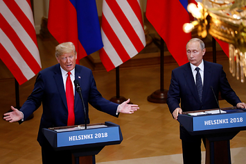 Vladimir Putin Denied Having Compromising Information On President Trump