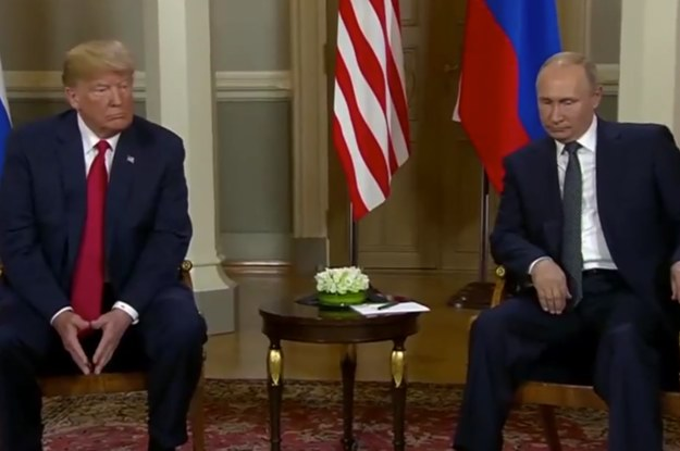 buzzfeed.com - emilytamkin - Trump Has Just Met Vladimir Putin For Talks In Helsinki