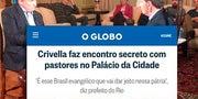 Crivella defende reunião secreta com evangélicos e diz que Globo publica