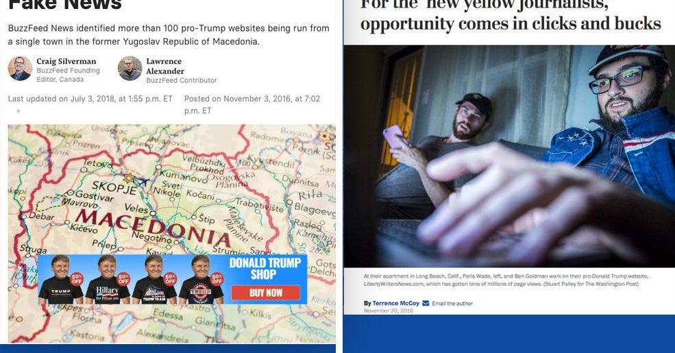 Macedonia\'s Pro-Trump Fake News Industry Had American Links ...
