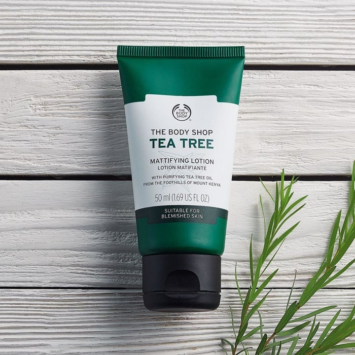 """It's vegan and cruelty-free!Promising review: """"I have oily and acne-prone skin, and most moisturizers just give me more of both. But this lotion doesn't cause breakouts and what's most amazing to me is that I can apply this to my oily skin and it actually takes away shine rather than adding more. I use this during the day, and it definitely helps control my oil and shine!"""" —Damon McLayGet it from Amazon for $11.25."""