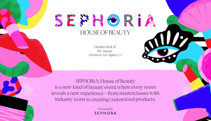 """At the heart of it, SEPHORiA sets out to celebrate the often indescribable euphoria you get from playing in the vast world of beauty – from discovering game-changing products or trying out a new look to engaging with digital technology that takes personalization to a whole new level,"" said Deborah Yeh,SVP of Marketing and Brand, Sephora, on a press release to As/Is."