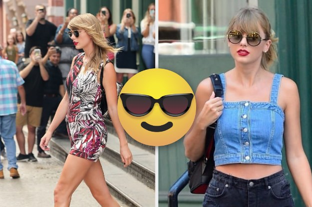 Take A Seat, Haters, Taylor Swift Is Walking From Her Apartment To Her Car Again!!!!