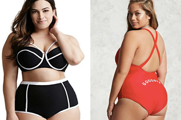 a0fc631f0b 18 Plus-Size Swimsuits That ll Turn Heads At The Beach