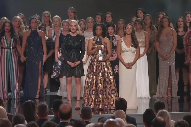 Larry Nassar's Sexual Abuse Victims Were Honored At The ESPY Awards And It Was Incredibly Powerful
