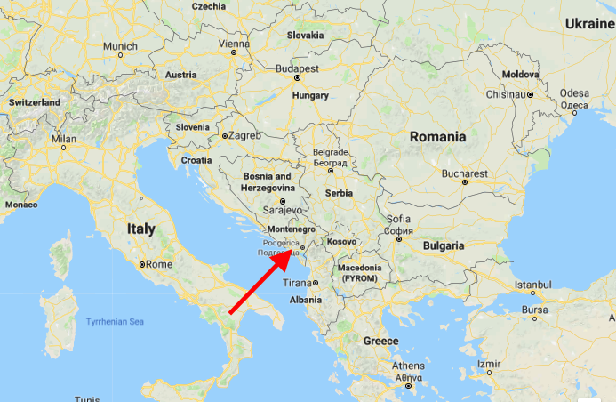Montenegro, for those of you not familiar with Balkan geography, is here. It and Serbia were the last of the former Yugoslavia to split apart into their own states, back in 2006.