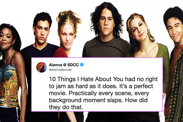 Twitter Showed A Lot Of Love For 10 Things I Hate About You And Were Totally Here For It