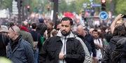 Un militant communiste accuse Alexandre Benalla de l'avoir frappé lors de la déclaration de candidature de Macron