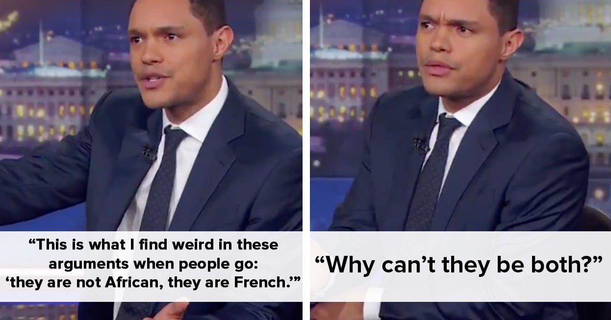Trevor Noah Fired Back After The French Ambassador Criticized His Joke About Africa Winning The World Cup