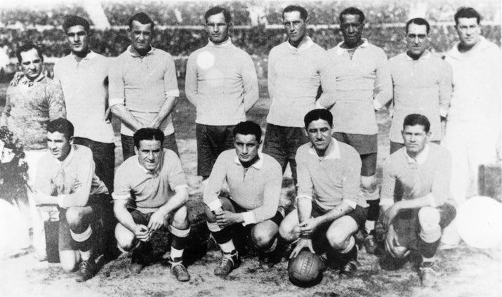 Uruguay was selected as the host nation, and ended up defeating Argentina 4-2 to be crowned the World Cup's first winner.