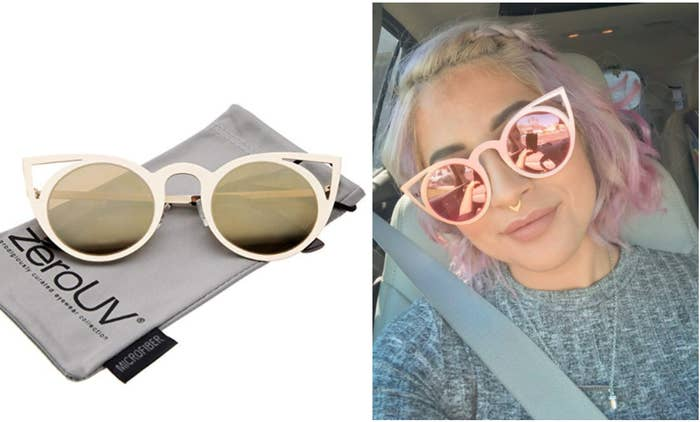 dab374460c45 32 Stylish Pairs Of Sunglasses You Won't Believe Are So Inexpensive