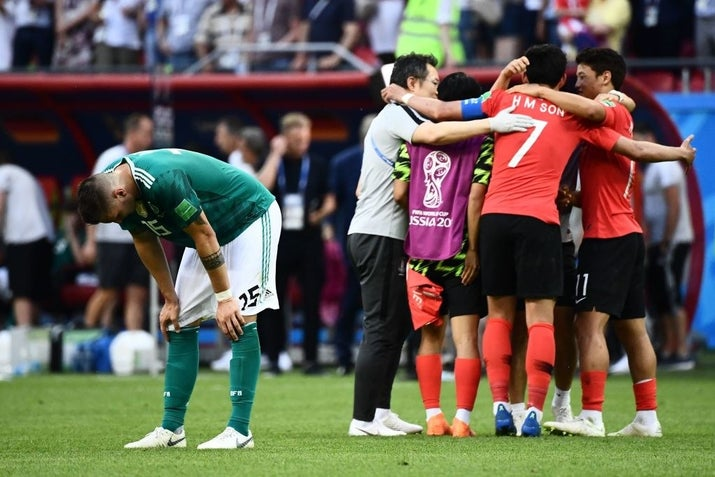 To see Germany exit so early on in the competition was a massive surprise, especially considering they've finished at least third in the last four World Cups.