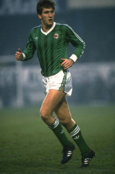 Whiteside represented Northern Ireland in the 1982 World Cup when he was only 17 years and 41 days old.