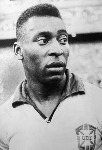 Pelé helped lead Brazil to victory in 1958, 1962, and 1970.